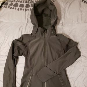 lululemon Waterproof Fleece Line Hooded Jacket - 4